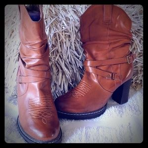 Roper women's slouch boots